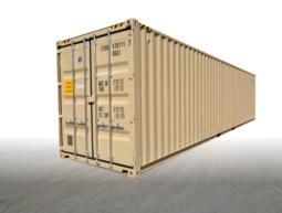 40′ High Cube beige