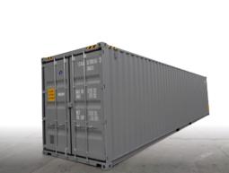 40′ High Cube traffic gray